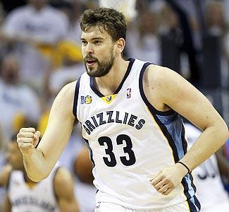 After reaching the second round of the playoffs last season, the Grizzlies are expected to try to re-sign center Marc Gasol