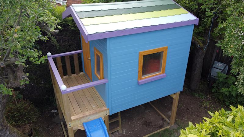 It's modelled on the Lottie Doll Treehouse toys. (SWNS)