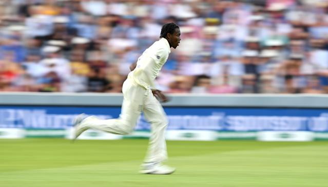 England's express man has turned the series on its head (Photo by Gareth Copley/Getty Images)