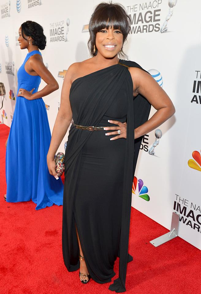 LOS ANGELES, CA - FEBRUARY 01:  Actress Niecy Nash arrives at the 44th NAACP Image Awards held at The Shrine Auditorium on February 1, 2013 in Los Angeles, California.  (Photo by Alberto E. Rodriguez/Getty Images for NAACP Image Awards)