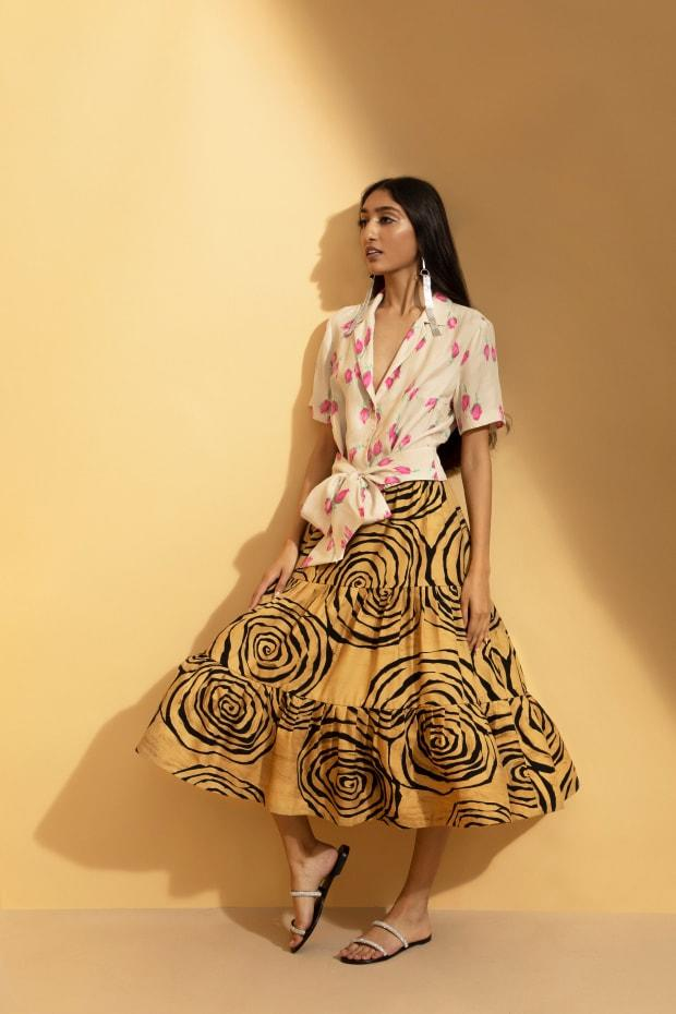 <p>A look from Hope for Flowers' Fall 2020 collection. </p>