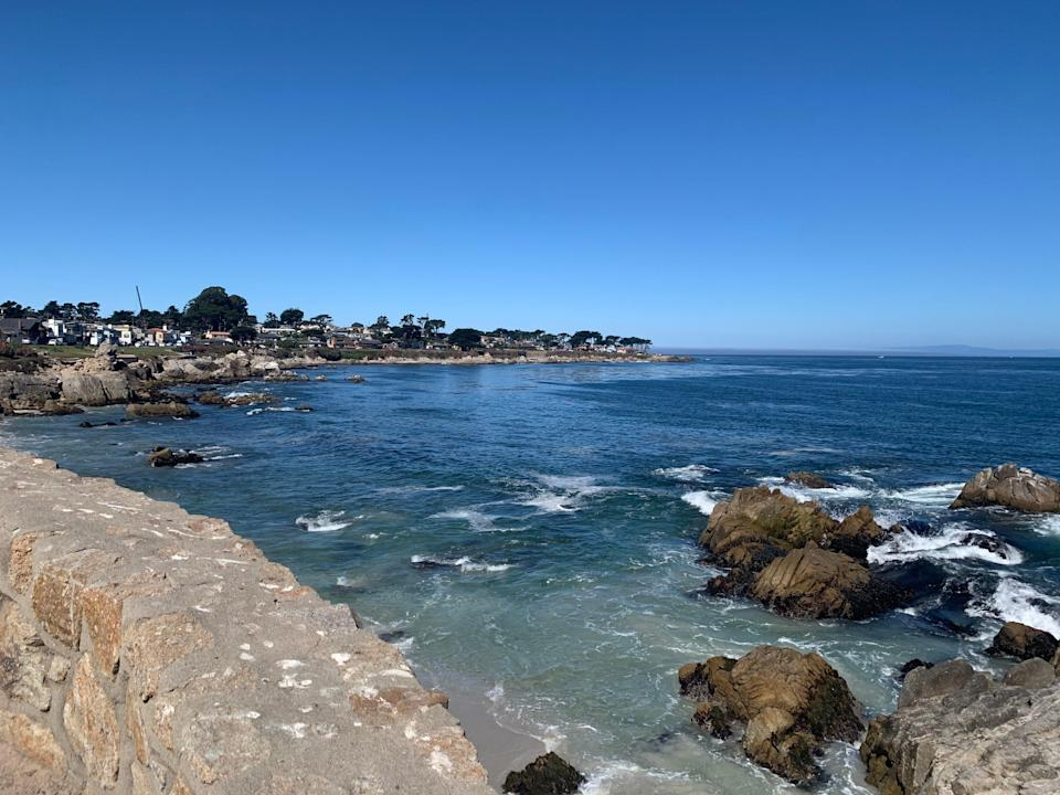 The waters off Lovers Point in Monterey are sheltered, shallow and easily accessible, making it a great spot for novice divers.