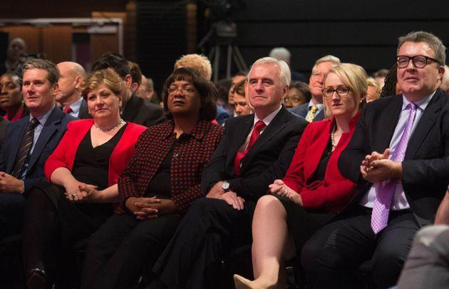 Key figures in Labour's shadow cabinet