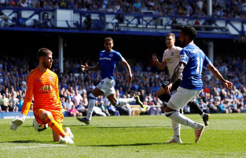 Soccer: Champions League hopes add spice to Everton v Man United clash
