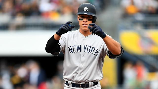 The jersey worn by the Yankees slugger during his MLB debut last August sold for an astounding $157,366 on Sunday.
