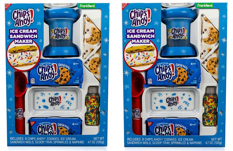 This Chips Ahoy ice cream sandwich maker is here to win white elephant