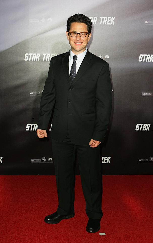 """Director <a href=""""http://movies.yahoo.com/movie/contributor/1804476864"""">J.J. Abrams</a> at the Sydney premiere of <a href=""""http://movies.yahoo.com/movie/1809752801/info"""">Star Trek</a> - 04/07/2009"""