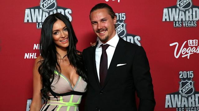 Melinda Karlsson, the wife of Senators defenseman Erik Karlsson, filed an order of protection against the longtime girlfriend of Senators forward Mike Hoffman, reports the Ottawa Citizen.