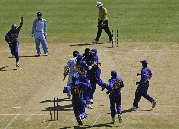 Group B, India v Sri Lanka - Cricket World Cup 2007 : News Photo