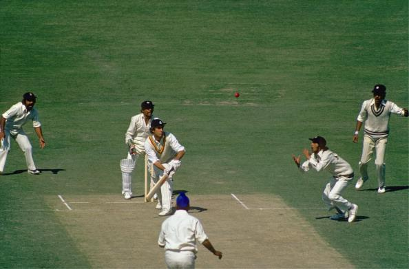India v England, 2nd Test, Calcutta, Jan 1976-77 : News Photo