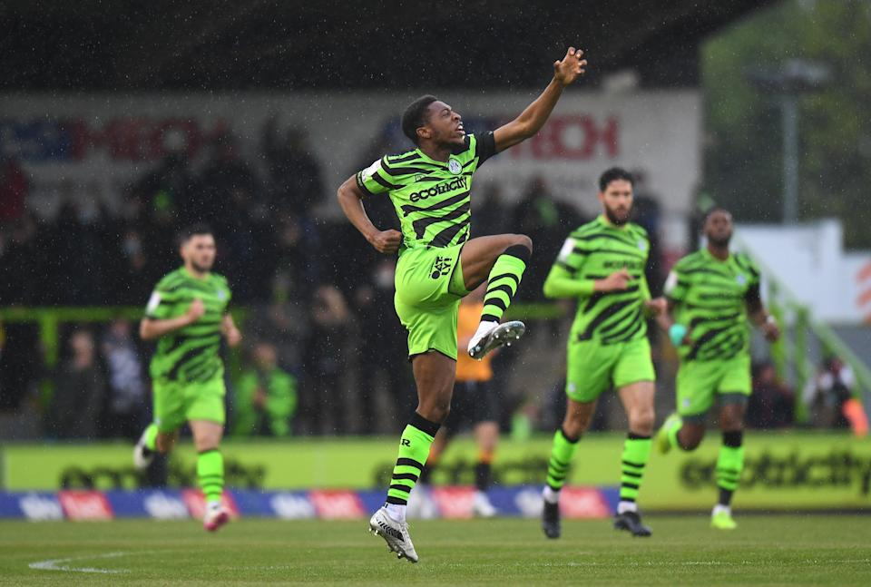Forest Green Rovers have even introduced sustainable materials into their kits, including bamboo and coffee grounds (Getty)