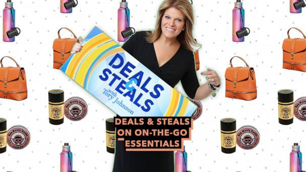 PHOTO: DEALS AND STEALS 080819 (ABC NEWS/ BOTTLE KEEPER/ HONEY HOUSE NATURALS/ MALIBU SKYE/ GMA)