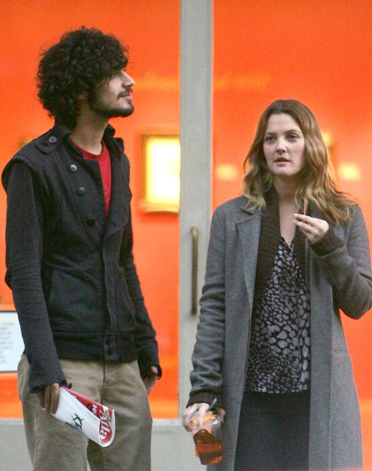 "Around the same time, Cameron's BFF Drew Barrymore broke up with her boyfriend of five years, Strokes drummer Fabrizio Moretti. <a href=""http://www.infdaily.com"" target=""new"">INFDaily.com</a> - October 14, 2006"