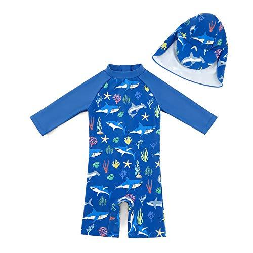 One Piece Zip Sunsuits with Sun Hat (Amazon / Amazon)