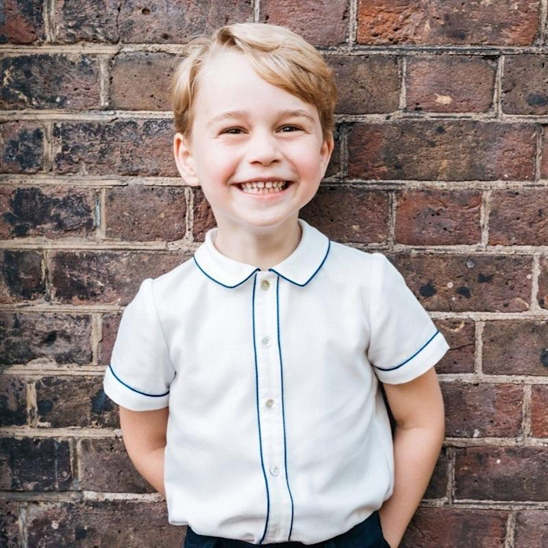 See Prince George's Official 5th Birthday Portrait