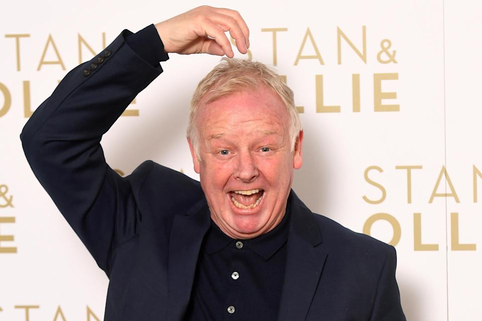 LONDON, ENGLAND – JANUARY 08: Les Dennis attends a special screening of 'Stan & Ollie' at Soho Hotel on January 08, 2019 in London, England. (Photo by Dave J Hogan/Getty Images)