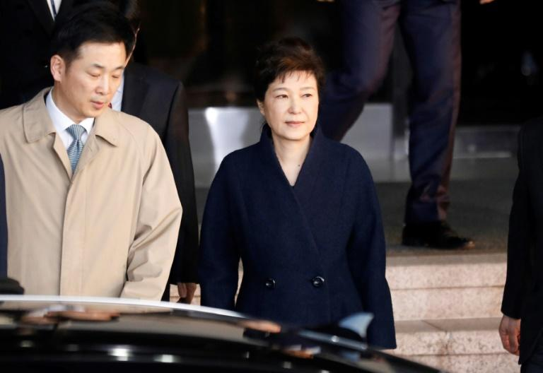Park questioned in corruption scandal