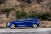 <p>Hyundai says that the new front end actually sees aerodynamic improvements compared to the current GT Sport's fascia.</p>
