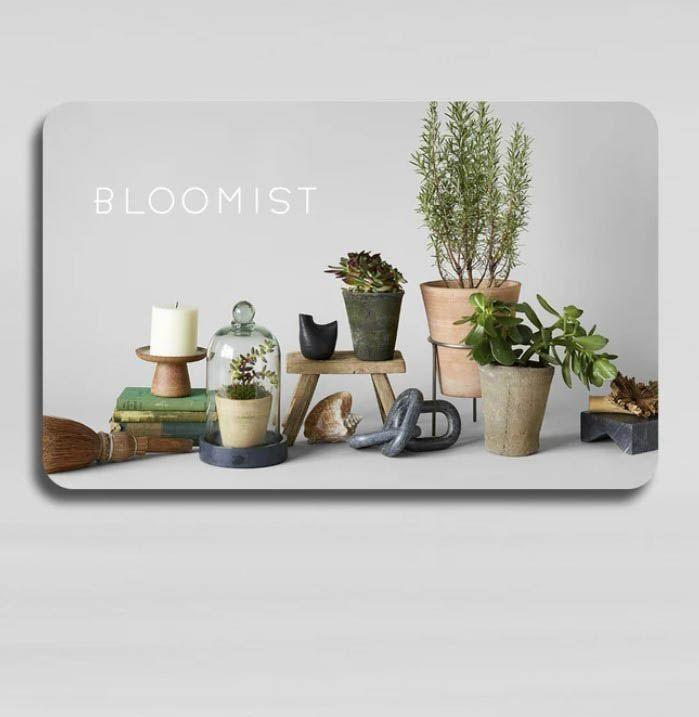 """<p><strong>Bloomist</strong></p><p>bloomist.com</p><p><strong>$50.00</strong></p><p><a href=""""https://go.redirectingat.com?id=74968X1596630&url=https%3A%2F%2Fbloomist.com%2Fcollections%2Fdried-botanicals%2Fproducts%2Fbloomist-gift-card&sref=https%3A%2F%2Fwww.esquire.com%2Flifestyle%2Fg18726497%2Flast-minute-mothers-day-gift-ideas%2F"""" rel=""""nofollow noopener"""" target=""""_blank"""" data-ylk=""""slk:Buy"""" class=""""link rapid-noclick-resp"""">Buy</a></p><p>She can hunt for dried botanicals, terra cotta planters, alpaca throws, and other accent pieces from Bloomist, which takes its decor inspiration from nature.</p>"""