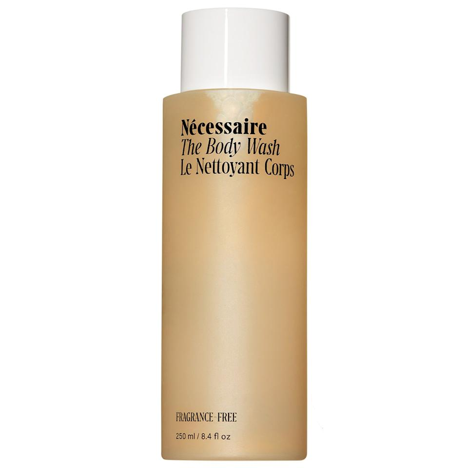 """<h3>Nécessaire The Body Wash</h3><br>Classic, refined, and positively chic — yes, apt words to describe tastemaker Virgo, but also this elevated body wash from Nécessaire.<br><br><strong>Nécessaire</strong> The Body Wash, $, available at <a href=""""https://go.skimresources.com/?id=30283X879131&url=https%3A%2F%2Fwww.sephora.com%2Fproduct%2Fnecessaire-the-body-wash-P459727"""" rel=""""nofollow noopener"""" target=""""_blank"""" data-ylk=""""slk:Sephora"""" class=""""link rapid-noclick-resp"""">Sephora</a>"""
