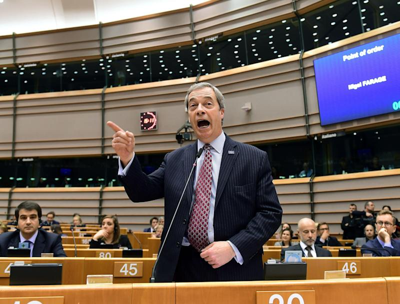 European Parliament member Nigel Farage campaigned for Brexit: AFP/Getty Images
