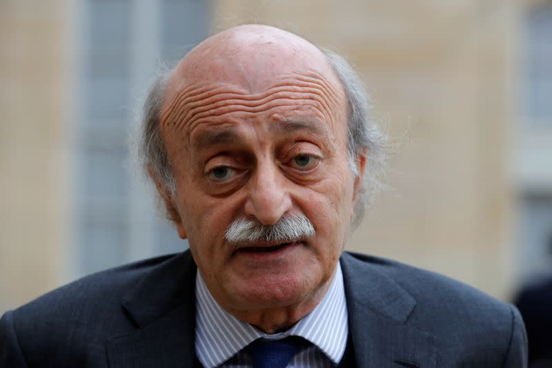 French initiative is last chance to save Lebanon, Jumblatt says