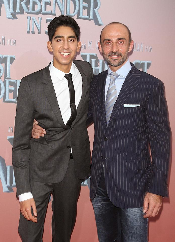 """<a href=""""http://movies.yahoo.com/movie/contributor/1810042384"""">Dev Patel</a> and <a href=""""http://movies.yahoo.com/movie/contributor/1800290257"""">Shaun Toub</a> at the New York City premiere of <a href=""""http://movies.yahoo.com/movie/1810071569/info"""">The Last Airbender</a> - 06/30/2010"""