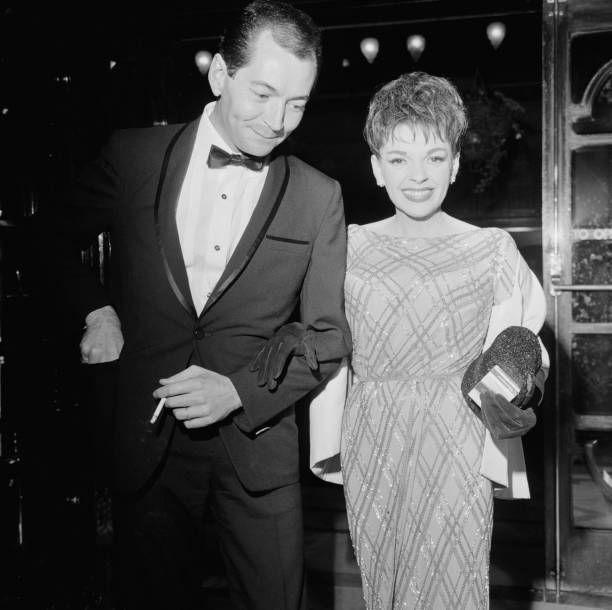 """<p>Garland met and Mark Herron, who produced her two comeback tours at the London Palladium, in 1964. After a whirlwind romance (during which she was still married to her third husband Sid Luft), they were <a href=""""https://www.townandcountrymag.com/leisure/arts-and-culture/a30284220/judy-garland-husbands/"""" rel=""""nofollow noopener"""" target=""""_blank"""" data-ylk=""""slk:married in private ceremony"""" class=""""link rapid-noclick-resp"""">married in private ceremony </a>in Las Vegas in November 1965. The marriage lasted less than a year.</p>"""
