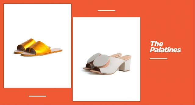 <p><strong>Origin:</strong> Los Angeles<br><strong>Style: </strong>Founded by former Proenza Schouler and Alexander Wang footwear designer Jessica Taft Langdon, the brand offers a series of colorful, modern, sculptural shoes. Highlights include these white mules featuring a spherical disc on top, plus slides in metallic shades and ballerina-style, ribbon-tied heels. Easily pair shoes from the Palatines with your favorite white jeans and off-the-shoulder blouse for a perfectly effortless summer look. <br><strong>Price: </strong>Starting at $260<br><strong>Shop: </strong>Available at <span>thepalatinesshoes.com</span><br>(Photo: The Palatines) </p>