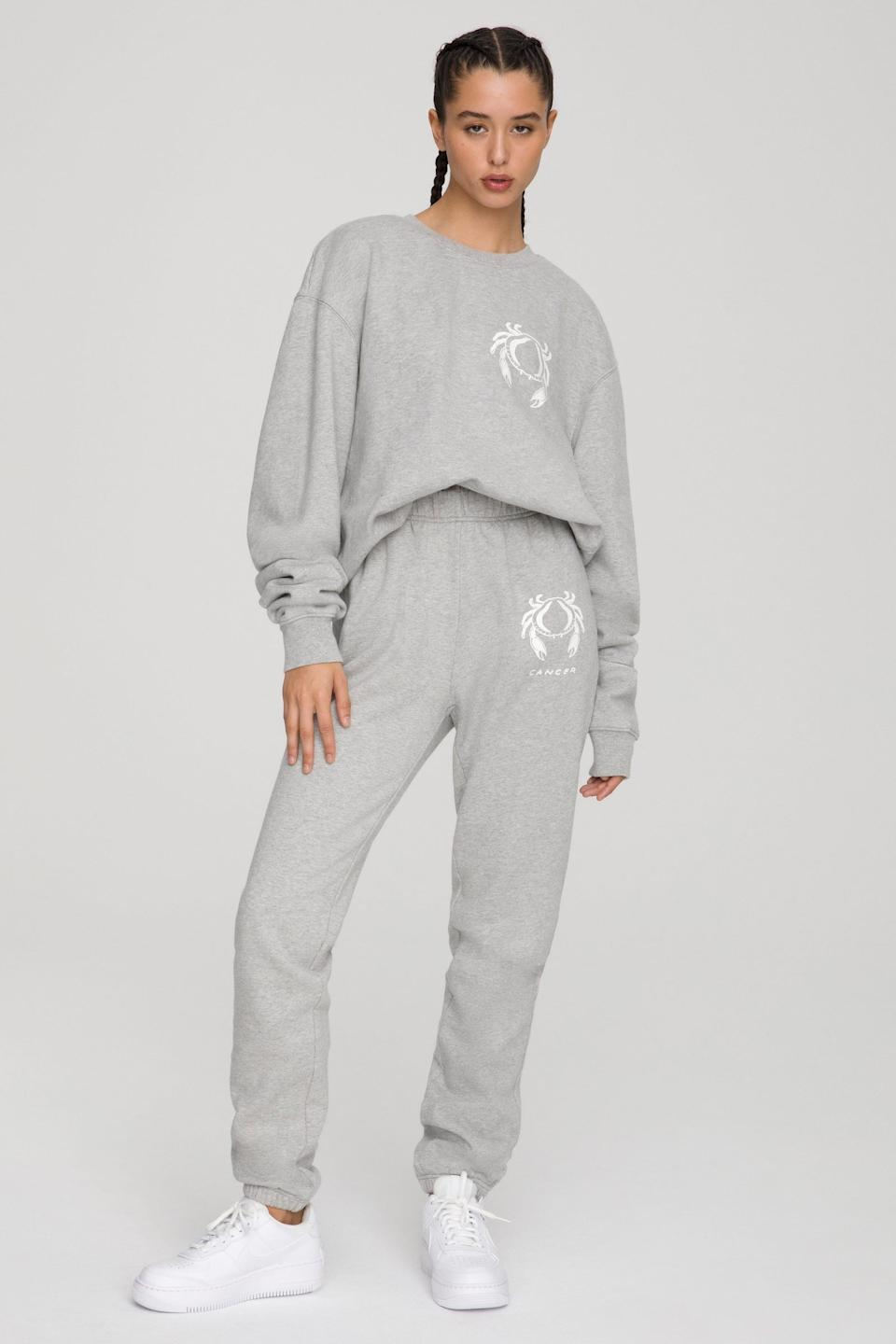 The Cancer Boyfriend Sweatshirt and the Cancer Boyfriend Sweatpants from Good American.