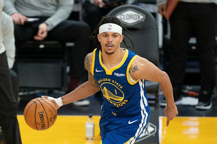 Golden State Warriors guard Damion Lee, who hasn't played since April 19, testedpositive for COVID-19 on April 21 despite being vaccinated.