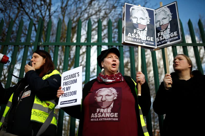 News and quotes from Julian Assange's extradition hearing