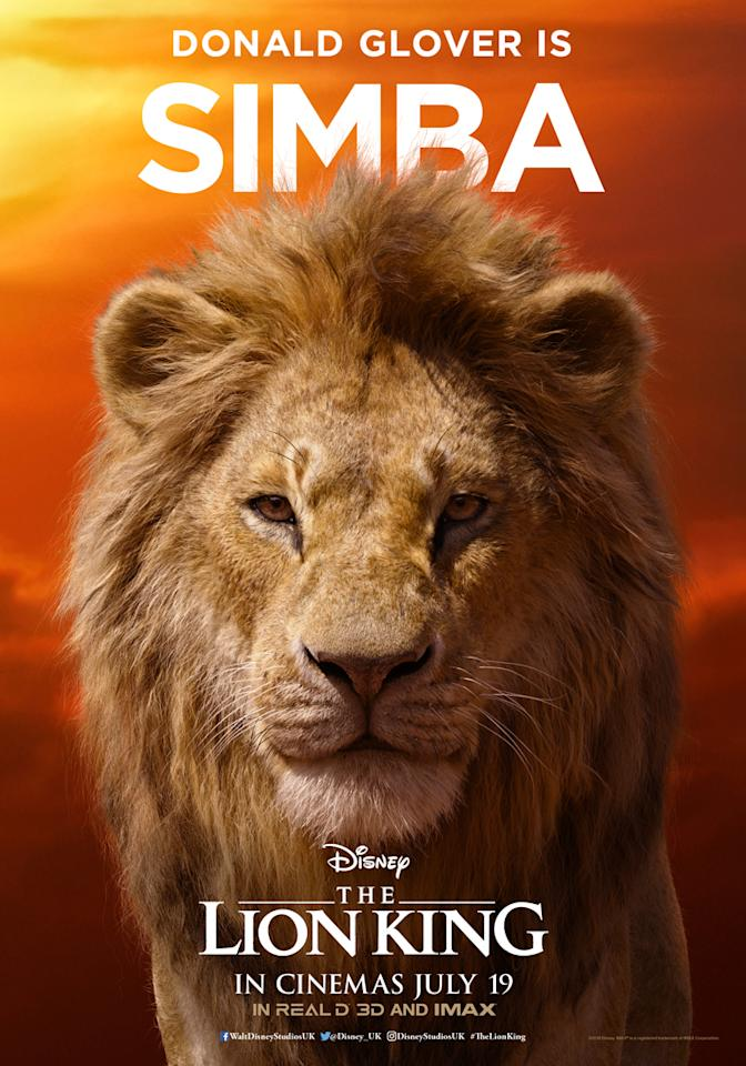 After impressing Disney as a young Lando Calrissian in <em>Solo: A Star Wars Story</em>, <em>Community</em> star Donald Glover has landed the role of a lifetime as Simba, the pretender to the throne.