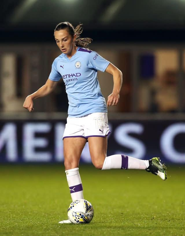 Manchester City's Caroline Weir believes the FA's initiative is another boost to the women's game in this country . (Martin Rickett/PA)