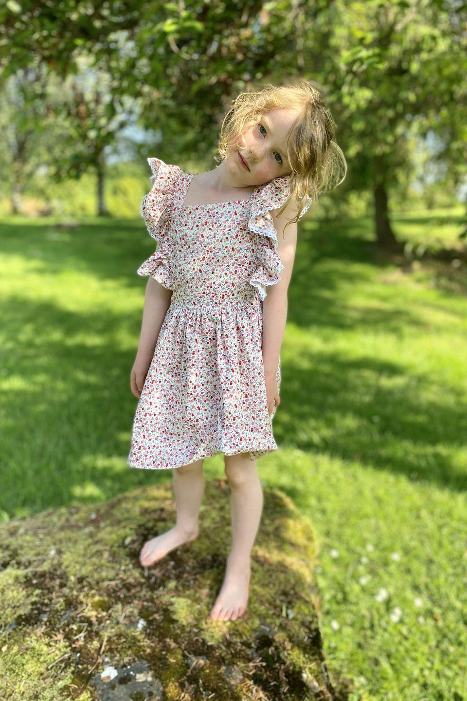 """<p>This British brand designs children's clothes that look like they have fallen straight out of a fairytale, but are robust enough for little ones to frolic about in. Dresses have smocking, floral prints and playful embroidery, while trousers boast statement tartan and gingham prints in bold colours. <a href=""""https://www.harpersbazaar.com/uk/culture/culture-news/a27233451/prince-louis-first-birthday-photographs/"""" rel=""""nofollow noopener"""" target=""""_blank"""" data-ylk=""""slk:Prince Louis was dressed in an Elfie London knit"""" class=""""link rapid-noclick-resp"""">Prince Louis was dressed in an Elfie London knit</a> for his first birthday portrait in 2019.</p><p><a class=""""link rapid-noclick-resp"""" href=""""https://go.redirectingat.com?id=127X1599956&url=https%3A%2F%2Fwww.elfielondon.com%2F&sref=https%3A%2F%2Fwww.harpersbazaar.com%2Fuk%2Ffashion%2Fg36661033%2Fchildrenswear-fashion-brands-royal-family%2F"""" rel=""""nofollow noopener"""" target=""""_blank"""" data-ylk=""""slk:SHOP NOW"""">SHOP NOW</a></p>"""