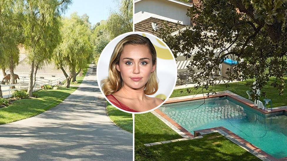 <p>Miley Cyrus to sell Hidden Hills equestrian mansion</p>