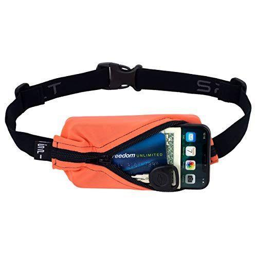 """<p><strong>SPIbelt</strong></p><p>amazon.com</p><p><strong>$22.99</strong></p><p><a href=""""https://www.amazon.com/dp/B082DGTX25?tag=syn-yahoo-20&ascsubtag=%5Bartid%7C2140.g.24270365%5Bsrc%7Cyahoo-us"""" rel=""""nofollow noopener"""" target=""""_blank"""" data-ylk=""""slk:Shop Now"""" class=""""link rapid-noclick-resp"""">Shop Now</a></p><p>This lil guy is roomy enough to fit keys, cards, and a phone (ya know, the essentials), but sleek to enough to feel unobtrusive. No matter the runner's gait, this pouch stays securely in place around your waist. And just <em>look </em>at that coral color! So pretty. </p>"""