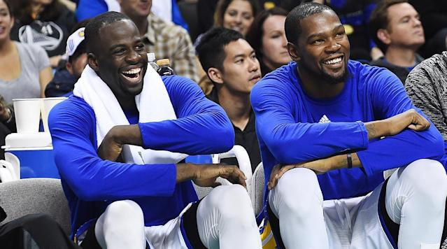 Draymond Green is an emotional player. And often times, that's what makes him so great.