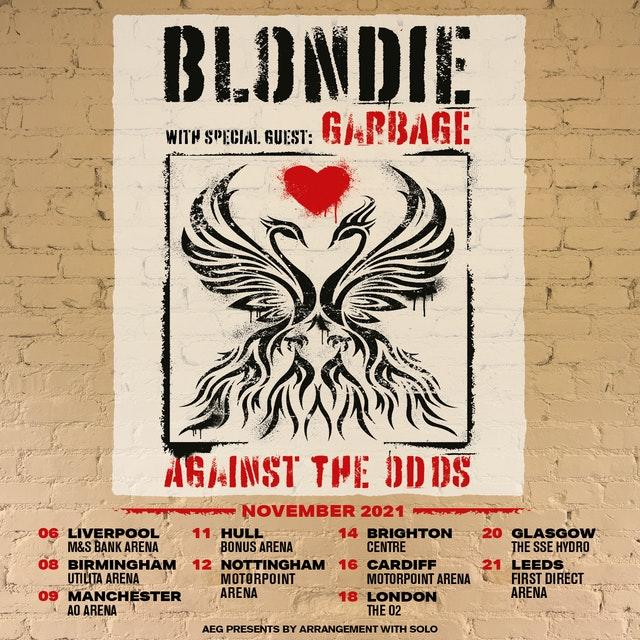 The band's new tour poster