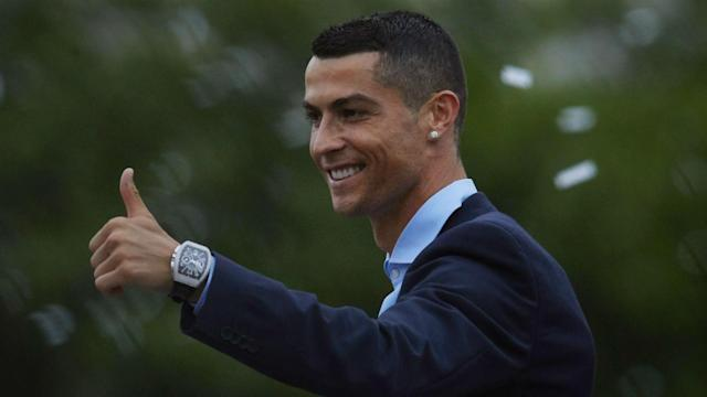 Having agreed a move to Juventus from Real Madrid, star forward Cristiano Ronaldo arrived in Turin to meet his new club on Sunday.
