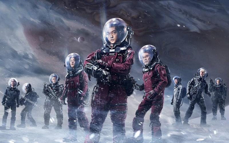 The hit film of Cixin's short story The Wandering Earth - Netflix