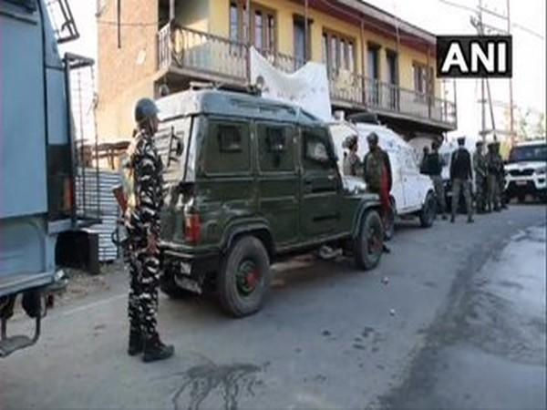 Visuals from the Budgam encounter site. [Photo/ANI]