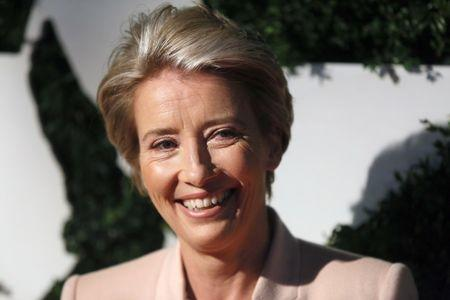Emma Thompson durante evento em Londres