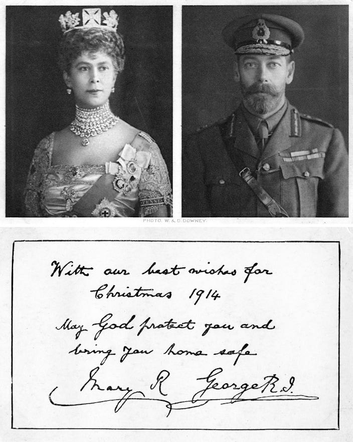King George Christmas Card 1914