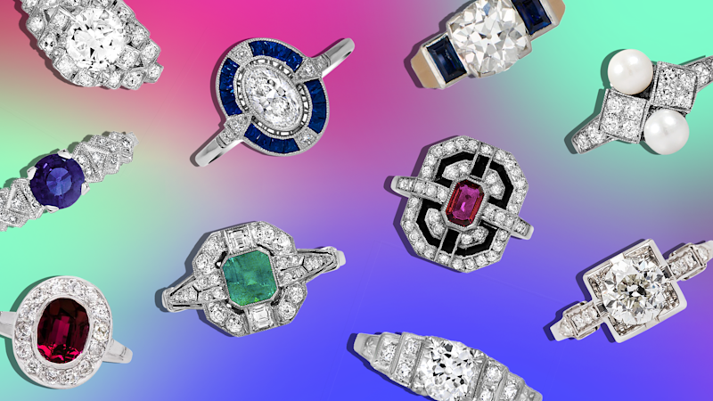 57 Art Deco Engagement Rings So Stunning They Practically Belong in Museums