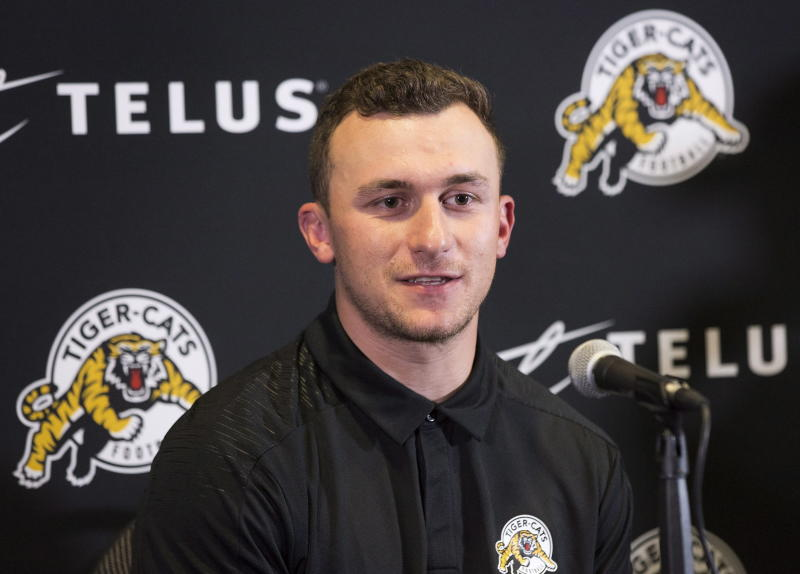 e0befc331 Johnny Manziel signs with CFL in path back to football