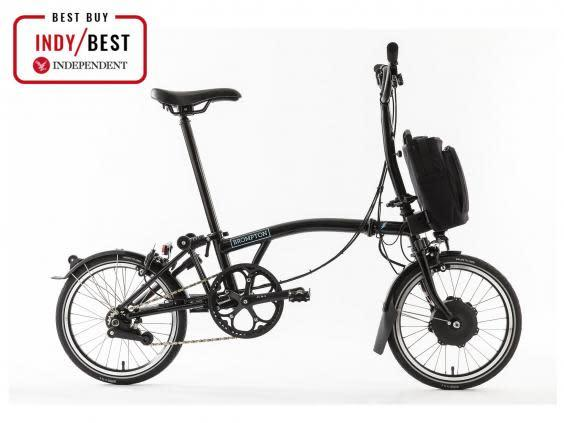 Portable, compact and easy to fold down, the Brompton electric is ideal if you're limited on storage space