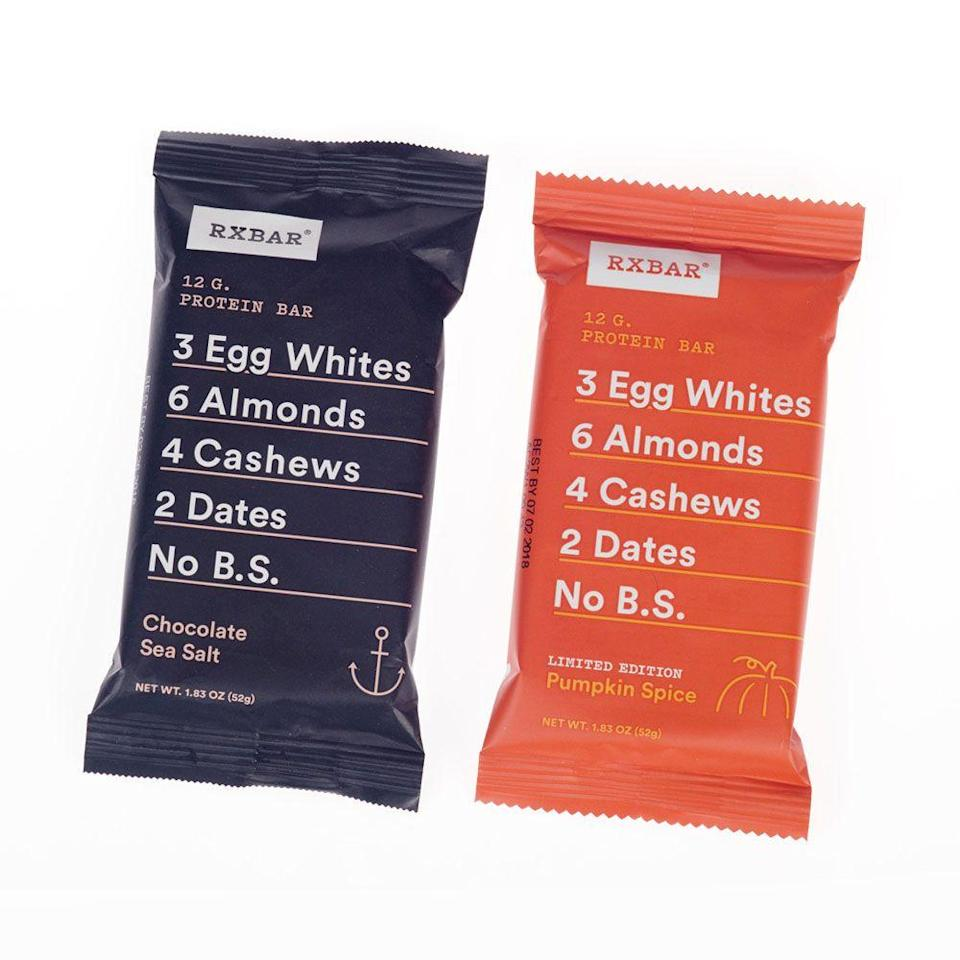 <p>These chewy bars with a simple ingredient list blew up in 2017, and they're still one of the more innovative snack companies today, with various flavors (check that limited edition Pumpkin Spice!) and even a line of nut butters and oat cups.</p>