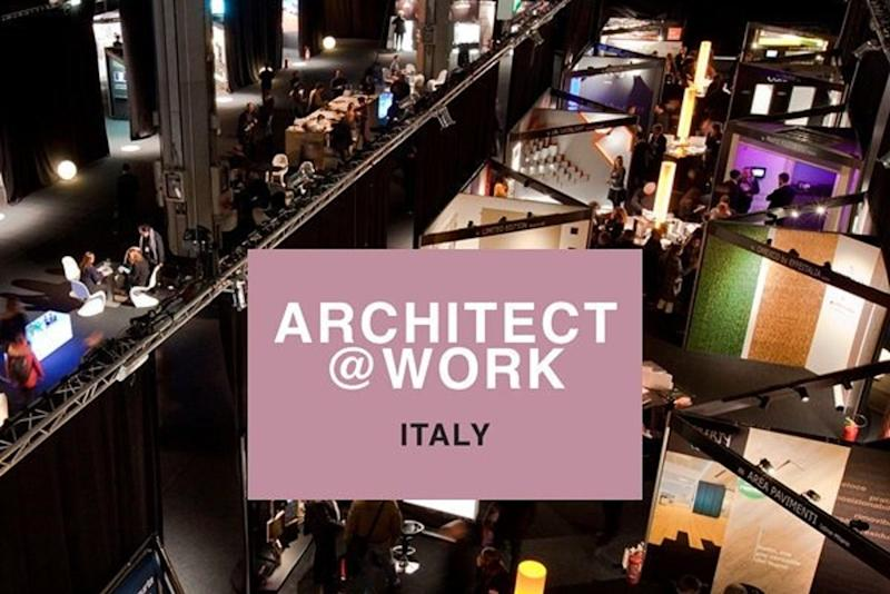 Architect at work Milano 2019