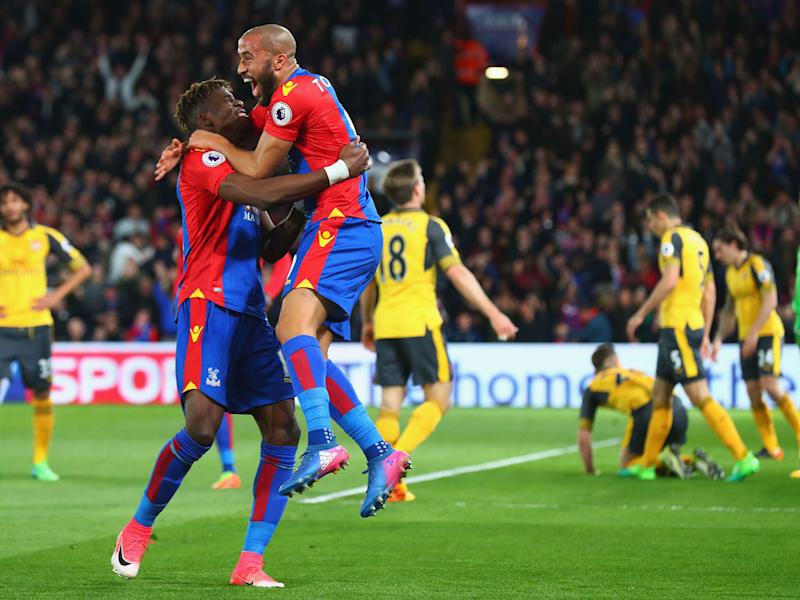 Townsend celebrates his goal: Getty